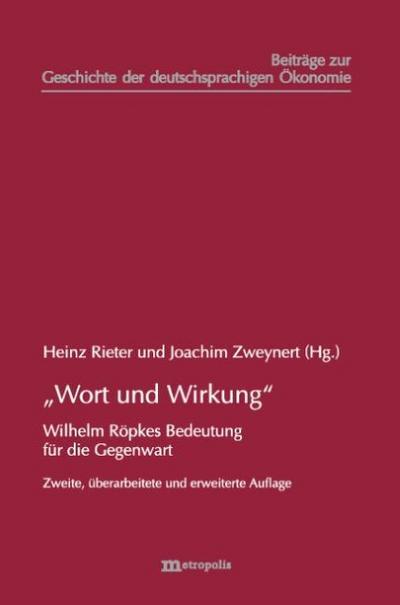 """""""Wort und Wirkung"""""""