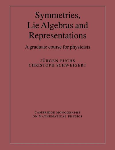 Symmetries, Lie Algebras and Representations