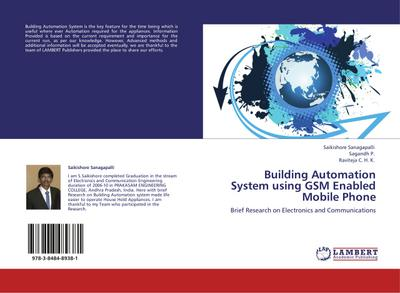 Building Automation System using GSM Enabled Mobile Phone