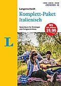 Langenscheidt Komplett-Paket Italienisch - Sprachkurs mit 2 Büchern, 6 Audio-CDs, 1 DVD-ROM, MP3-Download