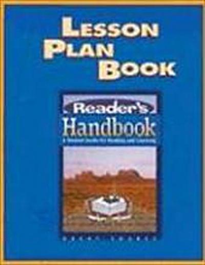 READERS HANDBK LESSON PLAN -SG