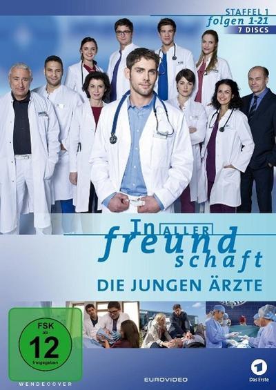 In aller Freundschaft - Die jungen Ärzte - Staffel 1 DVD-Box