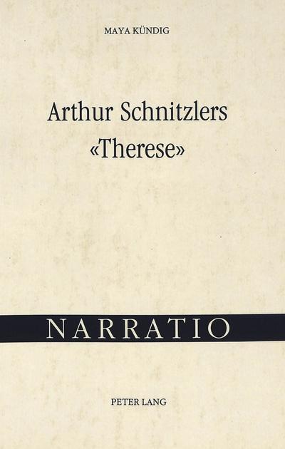 Arthur Schnitzlers 'Therese'