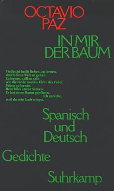 In mir der Baum. Gedichte spanisch und deutsch