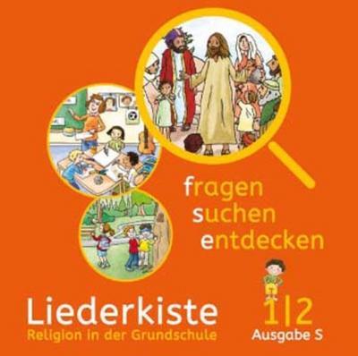 fragen - suchen - entdecken. Audio-CD 1/2. Ausgabe Baden-Württemberg und Südtirol ab 2017