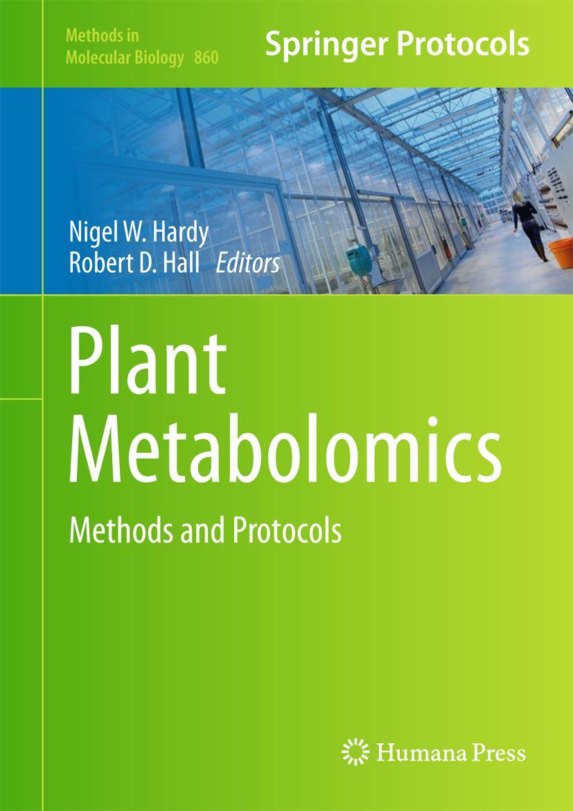 Plant Metabolomics, Nigel W. Hardy