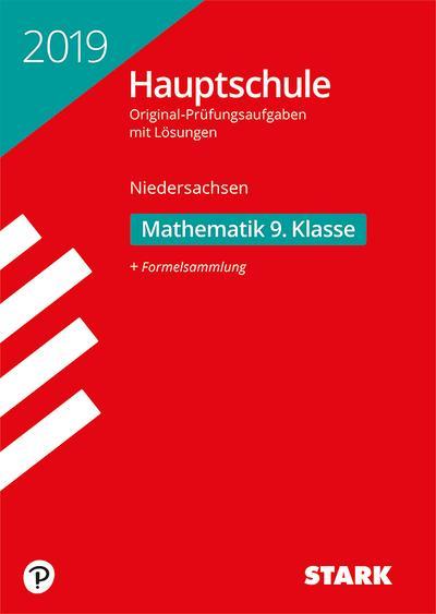 Original-Prüfungen Hauptschule 2019 - Mathematik 9. Klasse - Niedersachsen