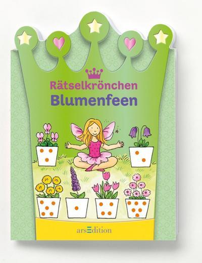 Rätselkrönchen Blumenfeen   ; Rätselkrönchen ; Deutsch