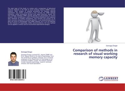 Comparison of methods in research of visual working memory capacity