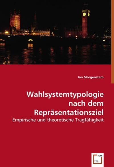 Wahlsystemtypologie nach dem Repräsentationsziel
