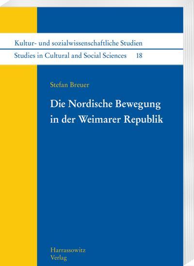 Die Nordische Bewegung in der Weimarer Republik