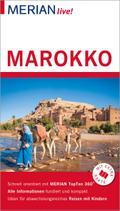 MERIAN live! Reiseführer Marokko; Mit Extra-Karte zum Herausnehmen; MERIAN live; Deutsch