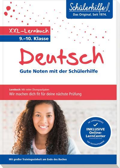 XXL-Lernbuch Deutsch 9./10. Klasse
