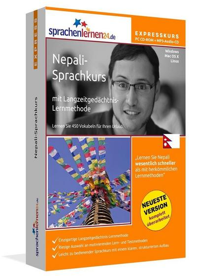 Sprachenlernen24.de Nepali-Express-Sprachkurs. CD-ROM