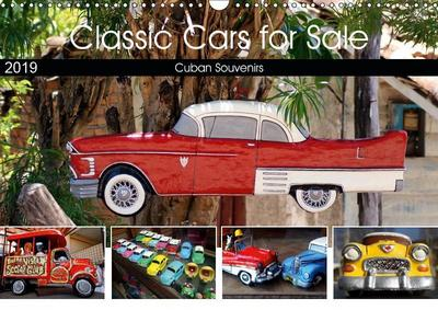 Classic Cars for Sale (Wall Calendar 2019 DIN A3 Landscape)