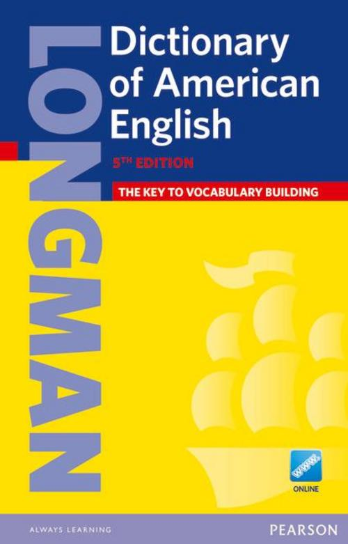 Longman Dictionary of American English 5 Paper & Online (HE),