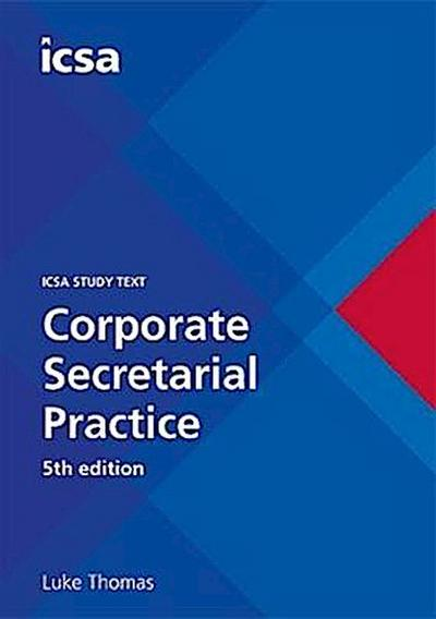 CSQS Corporate Secretarial Practice, 5th edition