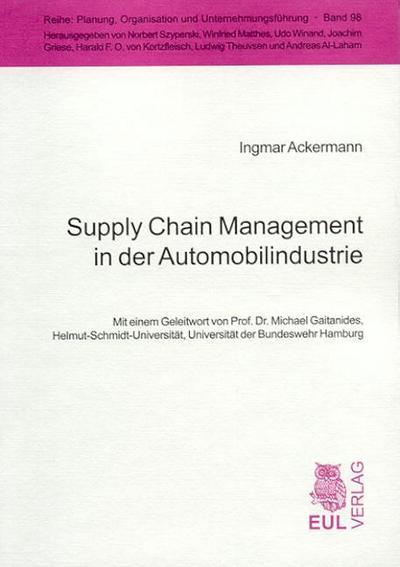 Supply Chain Management in der Automobilindustrie