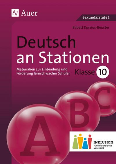 Deutsch an Stationen 10 Inklusion