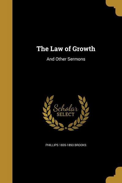 LAW OF GROWTH