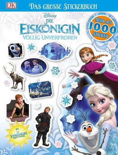 Disney Die Eiskönigin. Das große Stickerbuch