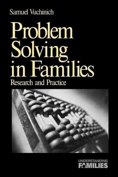 Problem Solving in Families: Research and Practice