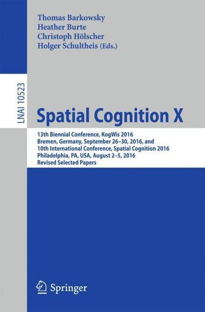 Spatial Cognition X