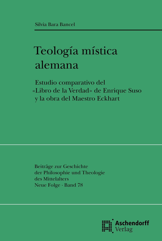 Teologia mistica alemana Silvia Bara Bancel