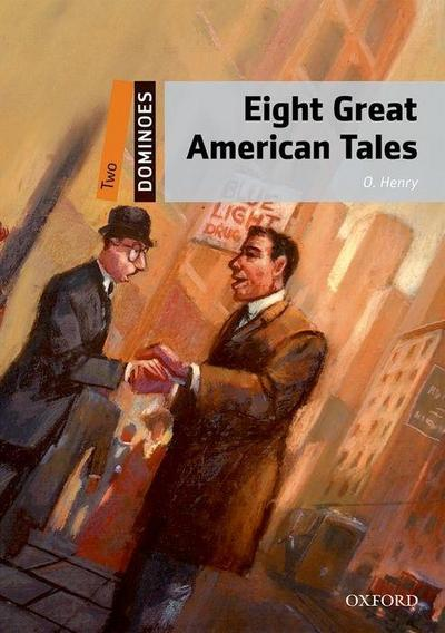 Dominoes: Level 2: 8 Great American Tales MP3 Pack