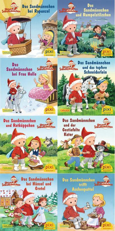 Pixi-Bundle 8er Serie 230: Das Sandmännchen im Märchenwald