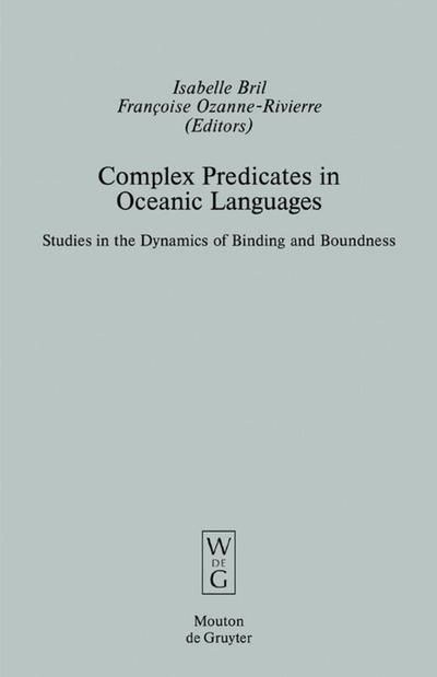 Complex Predicates in Oceanic Languages