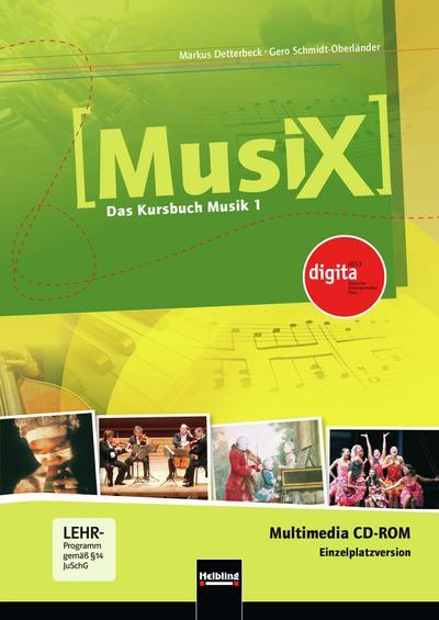 Musix - Das Kursbuch Musik, Bd.1 : 5./6. Schuljahr, Multimedia-CD-ROM (Einzelplatzversion)