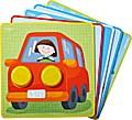 Zuordnungsspiel Kunterbunte Fahrzeug-Wel ...