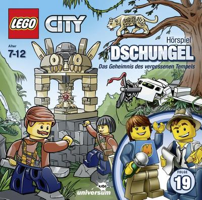 Lego City 19: Dschungel (CD) - Ufa (Sony Music) - Audio CD, Deutsch, , Das Geheimnis des vergessenen Tempels, Das Geheimnis des vergessenen Tempels