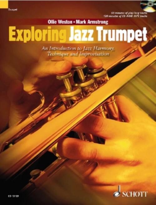 Exploring Jazz Trumpet, w. CD-ROM Ollie Weston