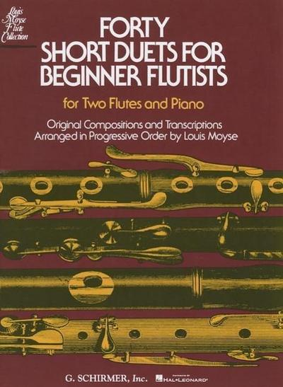 40 Short Duets for Beginner Flutists
