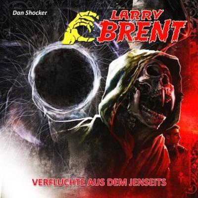 Larry Brent - Verfluchte aus dem Jenseits, 1 Audio-CD