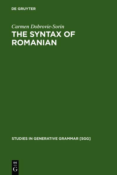 The Syntax of Romanian