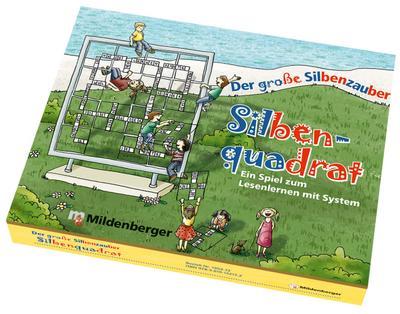 Der große Silbenzauber: Silbenquadrat
