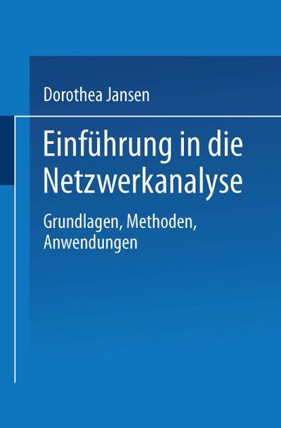 Einführung in die Netzwerkanalyse