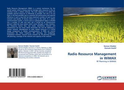 Radio Resource Management in WiMAX