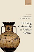 Defining Citizenship in Archaic Greece