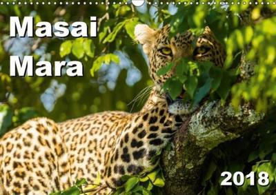 Masai Mara 2018 (Wall Calendar 2018 DIN A3 Landscape)