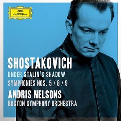 Under Stalin's Shadow. Symphonies No. 5, 8, 9, 2 Audio-CDs