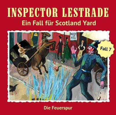 Inspector Lestrade - Die Feuerspur, 1 Audio-CD