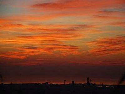 Sonnenuntergang Barcelona - 2.000 Teile (Puzzle)