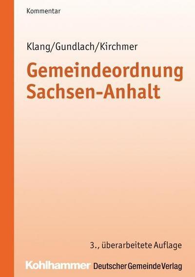 Gemeindeordnung Sachsen-Anhalt (KVG LSA), Kommentar