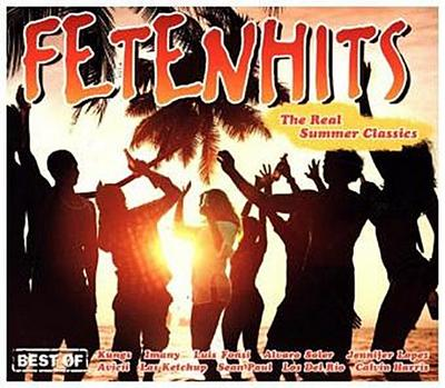 Fetenhits - The Real Summer Classics (Best Of), 3 Audio-CDs