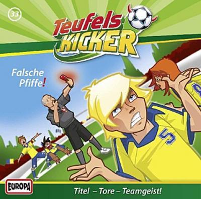 Die Teufelskicker - Falsche Pfiffe!, 1 Audio-CD