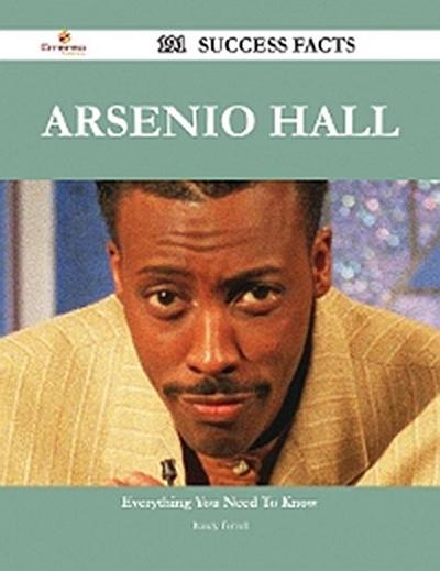 Arsenio Hall 191 Success Facts - Everything you need to know about Arsenio Hall